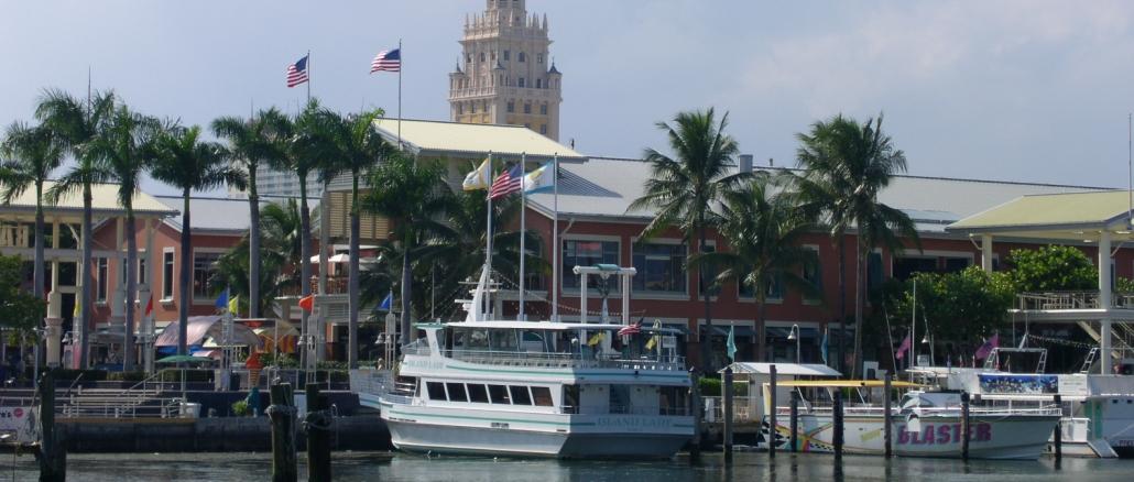 Bayside Marketplace In Miami Mit Vielen Gesch 228 Ften