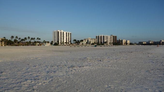 Ein Strand in Florida
