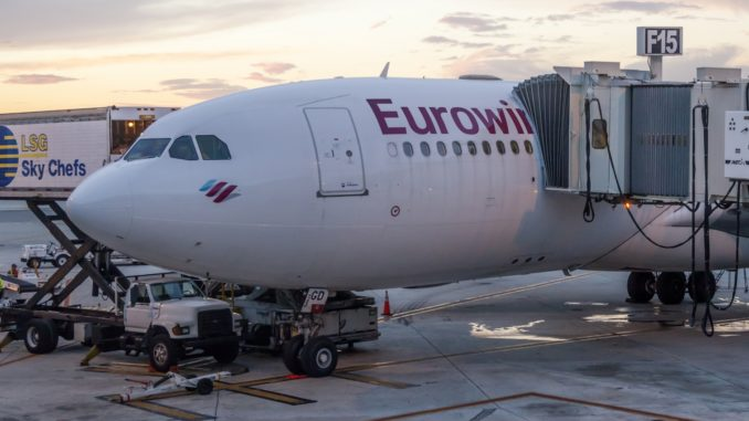 Eurowings am Flughafen Fort Myers