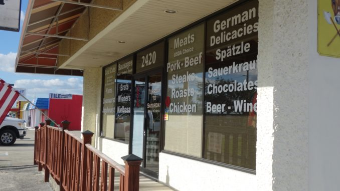 Kallis German Butcher Shop in Port Charlotte
