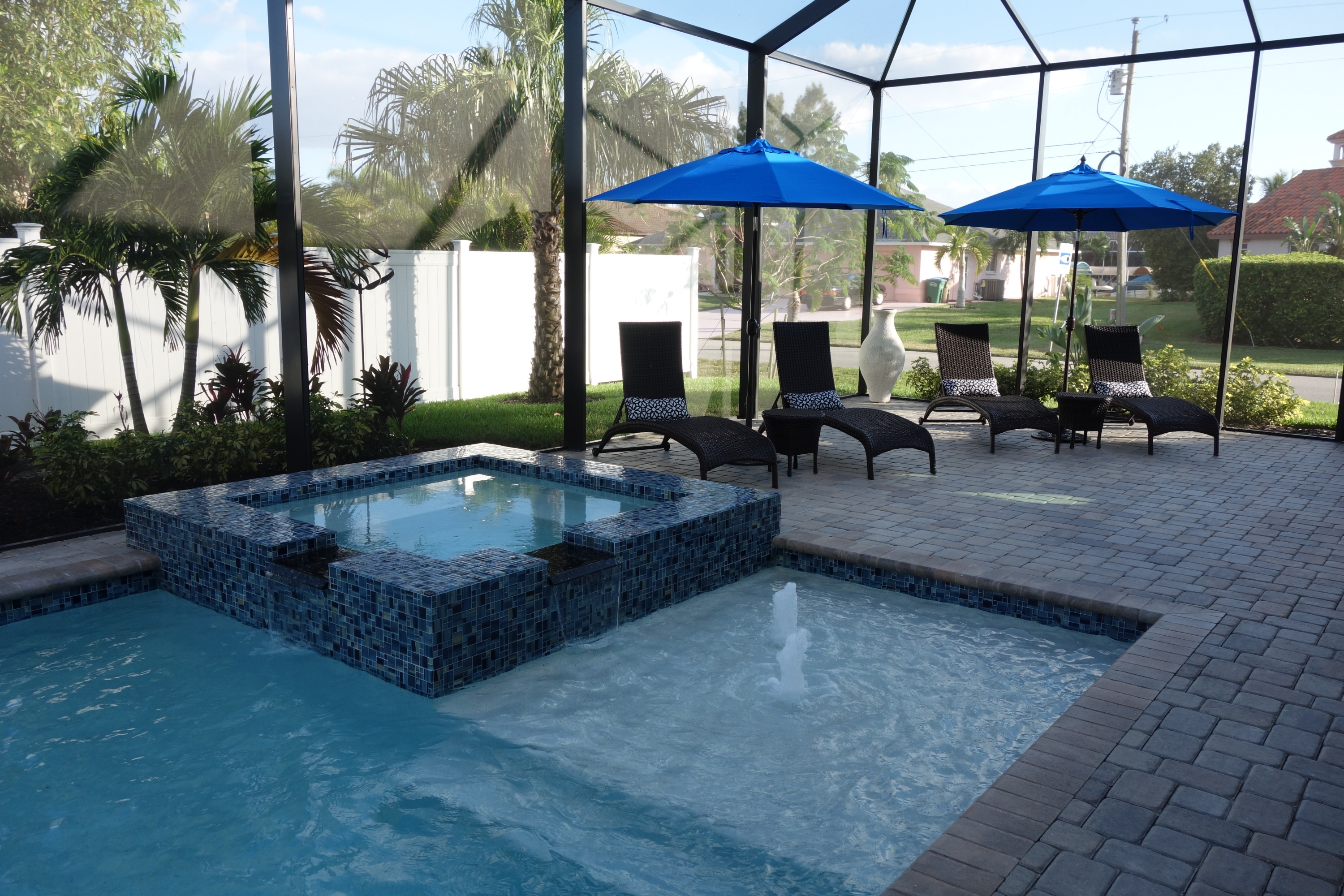 Cape Coral Model Home mit Pool