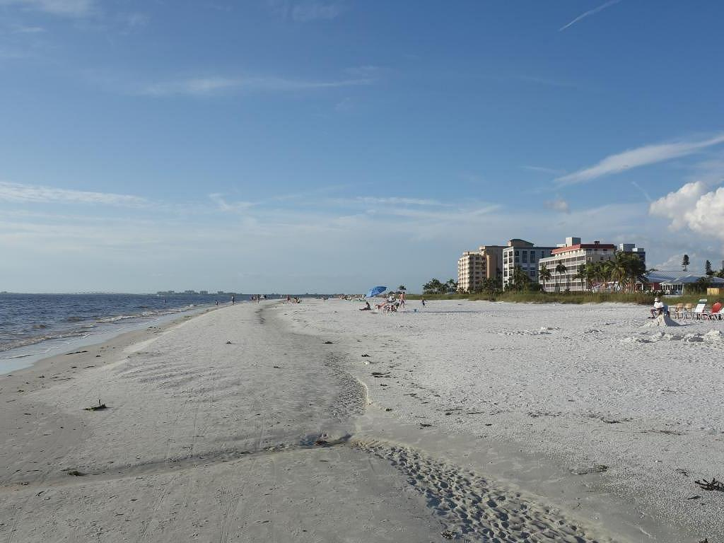 Der Strand in Fort Myers Beach