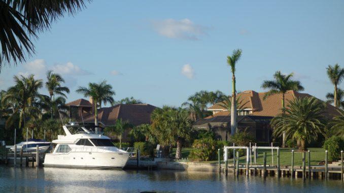 Florida Villa mit Boot