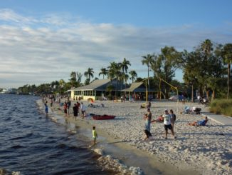 Der Strand in Cape Coral