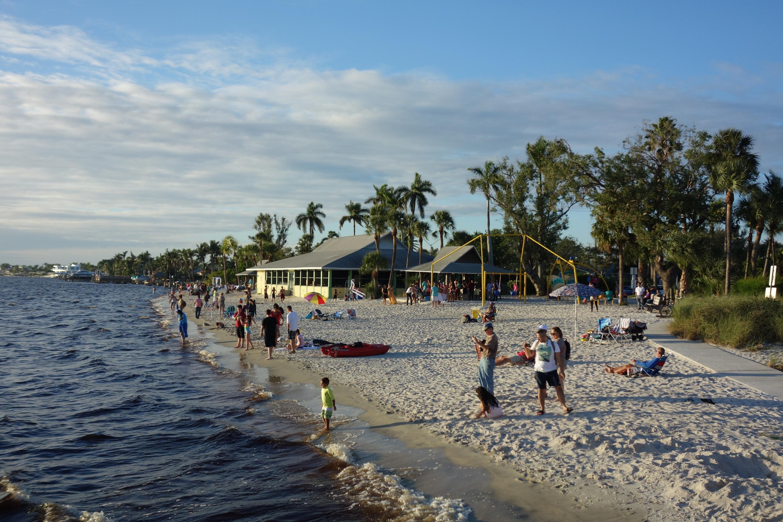 Der Strand in Cape Coral