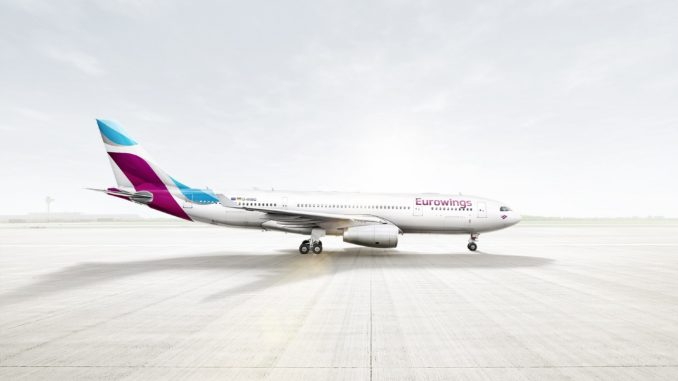 © Eurowings, Airbus A330