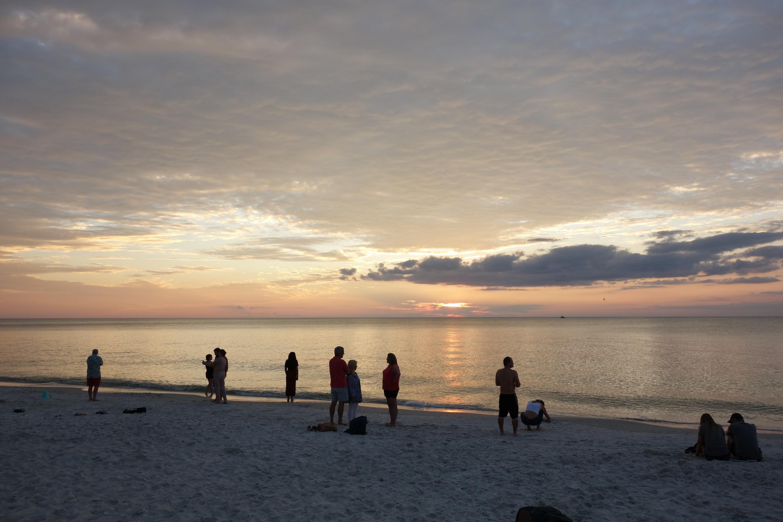 Ein Sonnenuntergang in Florida